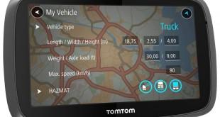 TomTom Trucker 5000 para veículos pesados