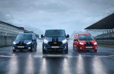 Ford Transit com modelos de referência em várias gamas