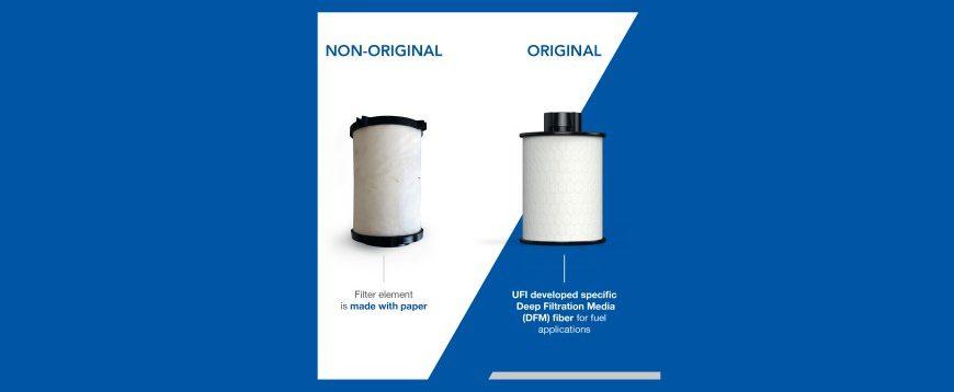 UFI Filters e CONVEY tomam medidas contra a proliferação de peças falsificadas