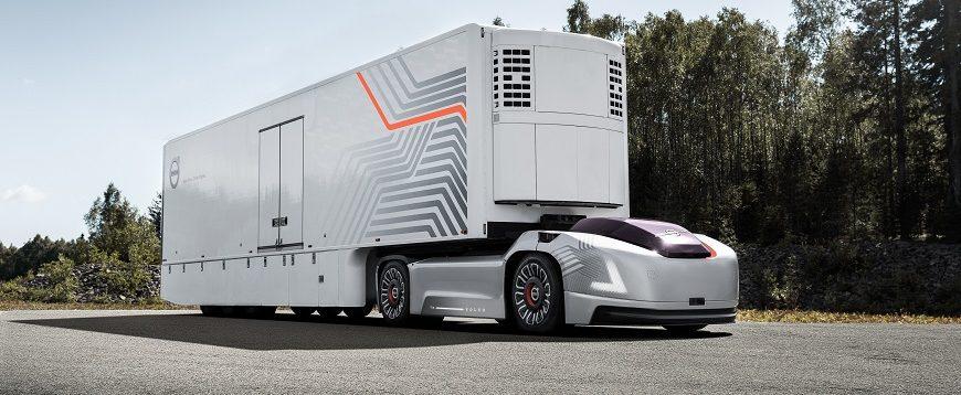 Grupo Volvo revela solução de transporte autónomo e elétrico