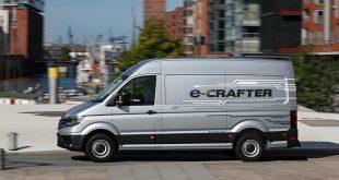 Volkswagen lança novo e-Crafter