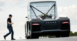 O camião da Volvo que quer bater o recorde de velocidade