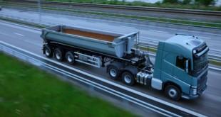 Elevação do eixo tandem melhora consumos nos camiões Volvo