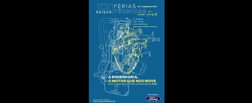 """20.ª edição do """"Férias Técnicas com a Ford"""" acontece em setembro"""
