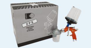 Zaphiro apresenta sistema de pintura com copos descartáveis