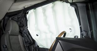 Nova geração de camiões Scania terá airbag lateral