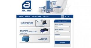 ALEA estreia novo site