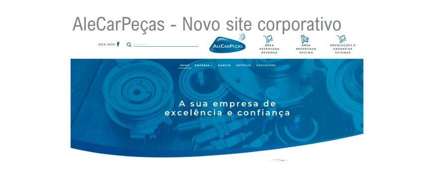 AleCarPeças com novo site corporativo