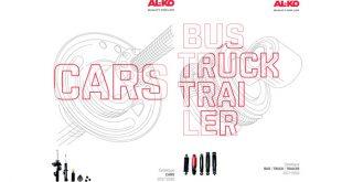 AL-KO apresenta novos catálogos de amortecedores para ligeiros e pesados