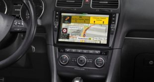 Alpine apresenta infotainment premium para VW Golf VI
