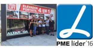 Altaroda distinguida como PME Líder 2016