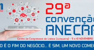 Convenção da ANECRA realiza-se a 9 e 10 de novembro