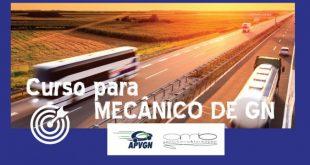 Nova data para o curso de mecânicos de motores a gás natural da APVGN