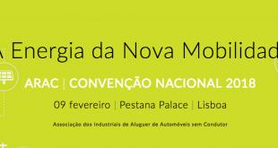 """ARAC realiza convenção sobre """"A Energia da nova mobilidade"""""""