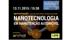 Archoil organiza conferência sobre nanotecnologia na Mecânica