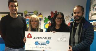 Auto Delta em ação social oferece donativo à APPCL