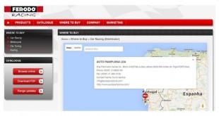 Auto Pamplona distribuiu Ferodo Racing