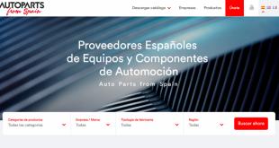"Sernauto lança nova plataforma ""Autoparts from Spain"""