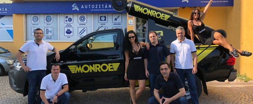 """Ação """"B-Connected 2018!"""" da Monroe foi um sucesso com a Autozitânia"""