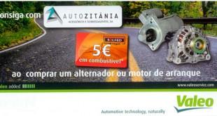Autozitânia e Valeo oferecem cartões de combustível