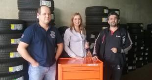 Kikai entrega carro de ferramentas Bahco