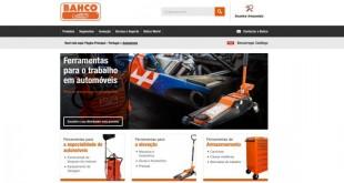 Bahco com novo site em português