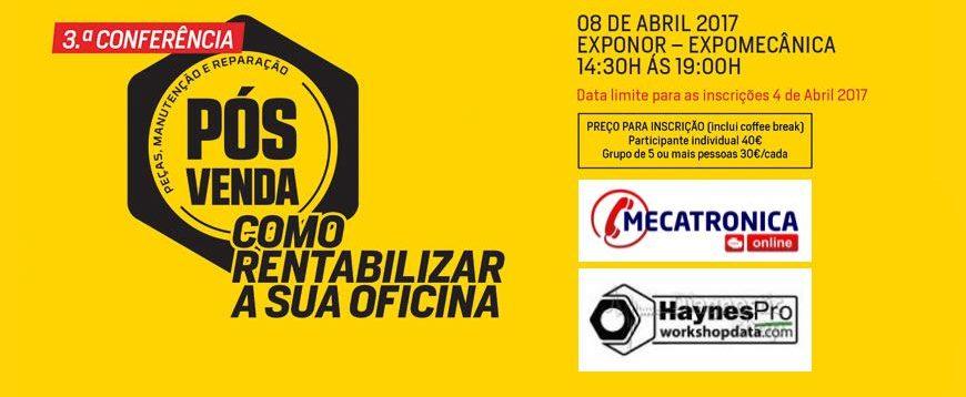 """Ganhe licenças Mecatrónica Online e Haynes Pro na conferência """"Como rentabilizar a sua oficina"""""""