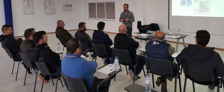 Recambios Barreiro realiza formação para a rede Intertrucks