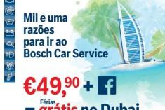 Bosch Car Service lança campanha promocional