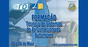 RPL Clima promove formação de Técnico de Sistemas de Ar Condicionado Automóvel