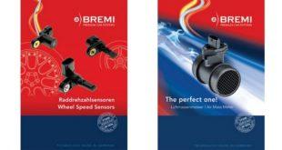 Medidores de massa de ar e sensores de ABS BREMI na DDS Auto