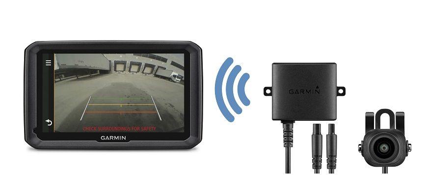 Garmin lança câmara traseira sem fios para camiões e frotas