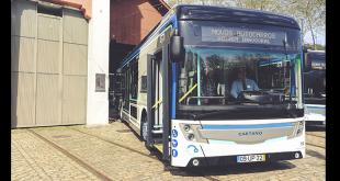 Autocarros elétricos e a gás natural da Caetano já circulam no Porto