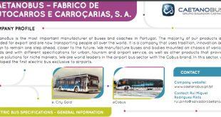 CaetanoBus integra observatório europeu de autocarros elétricos