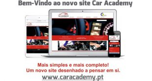 Novo site Car Academy