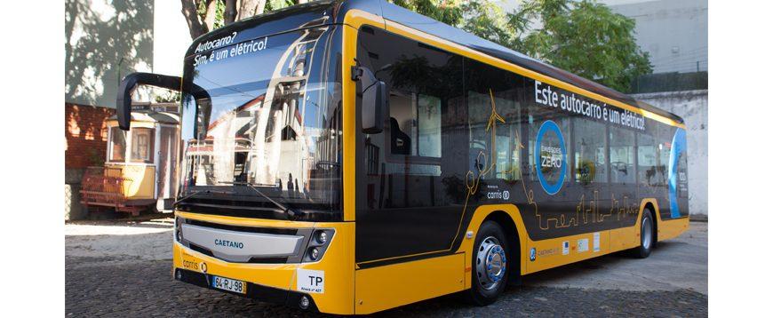Carris testa autocarro elétrico da CaetanoBus