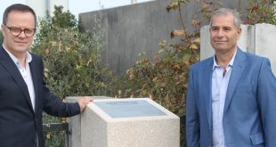 Foi lançada a primeira pedra das novas instalações da Centrocor