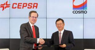 Cepsa e Cosmo Energy Group em parceria no negócio de lubrificantes