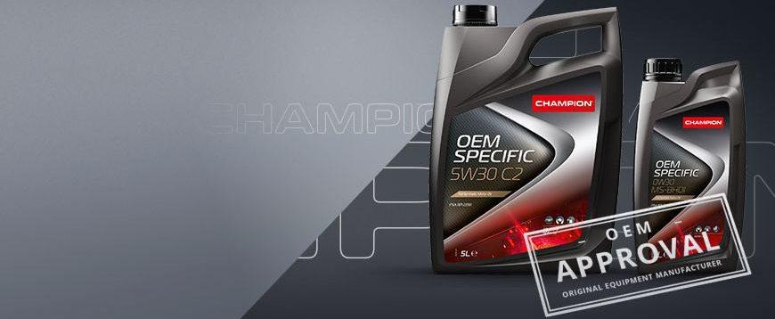 Novas aprovações Champion para motores PSA
