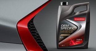 Champion lança lubrificante com aprovação MB 229.52
