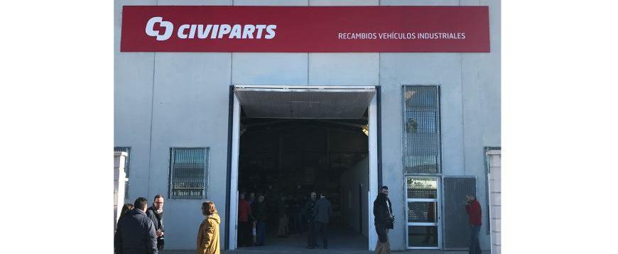 Civiparts reforça presença em Espanha
