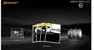 Continental lança aplicação TireInteractive para pesados