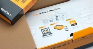 Referência PIC nas novas embalagens Contitech