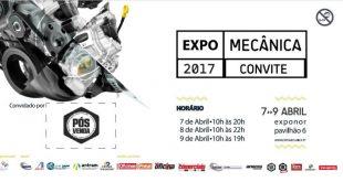 Visite o Expomecânica com o convite da Pós-Venda