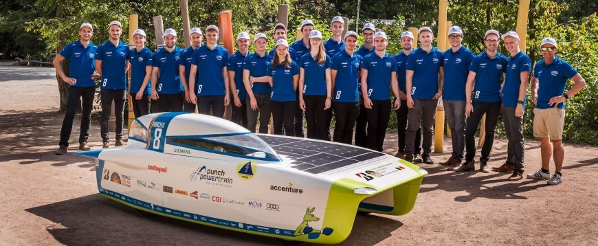 Cromax apoia Punch Powertrain Solar Team