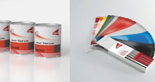 Cromax integra produtos PercoTop na oferta Imron Fleet Line