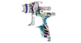 Edição especial da pistola de pulverização SATAjet 5000 B Sailor