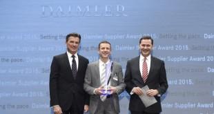 Axalta Coating Systems recebe Prémio Fornecedor Daimler