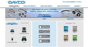 Novos sites de próxima geração da Dayco
