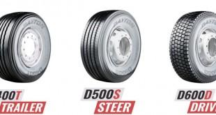 Dayton com nova gama de pneus para camiões
